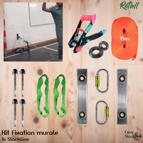 Kit Indoor - Fixation murale
