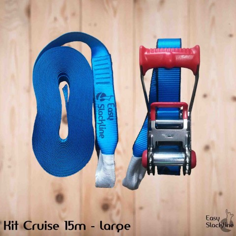 Kit Cruise 15m – 5cm easy slackline