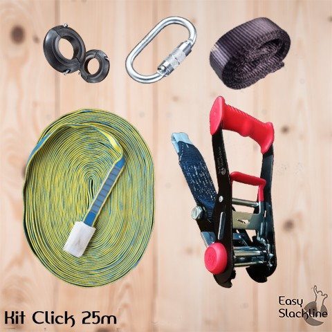 Kit Click 25m - easy slackline