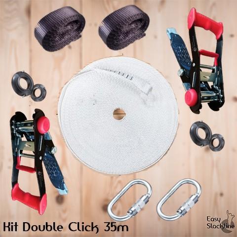 Kit Double Click 35m - easy slackline
