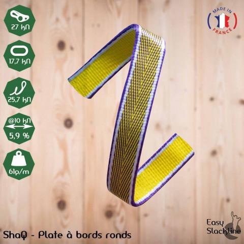 ShaQ - plate à bords ronds (MDF*)