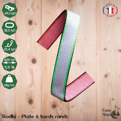 Slodki - plate à bords ronds (MDF*)
