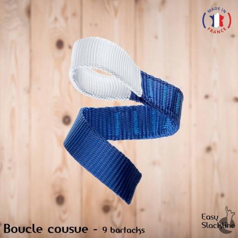 Boucle cousue slackline couture