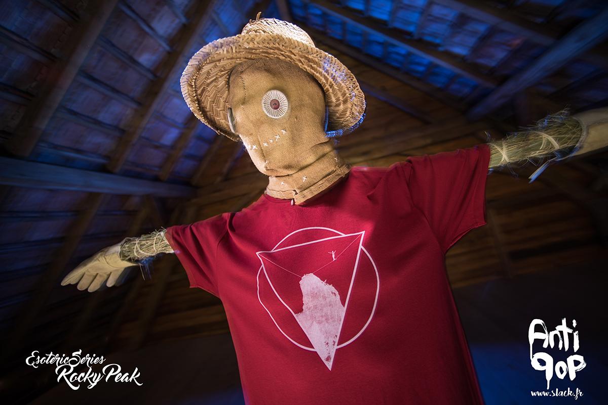 AntiPop Slackline T-shirt Esoteric Rocky Peak
