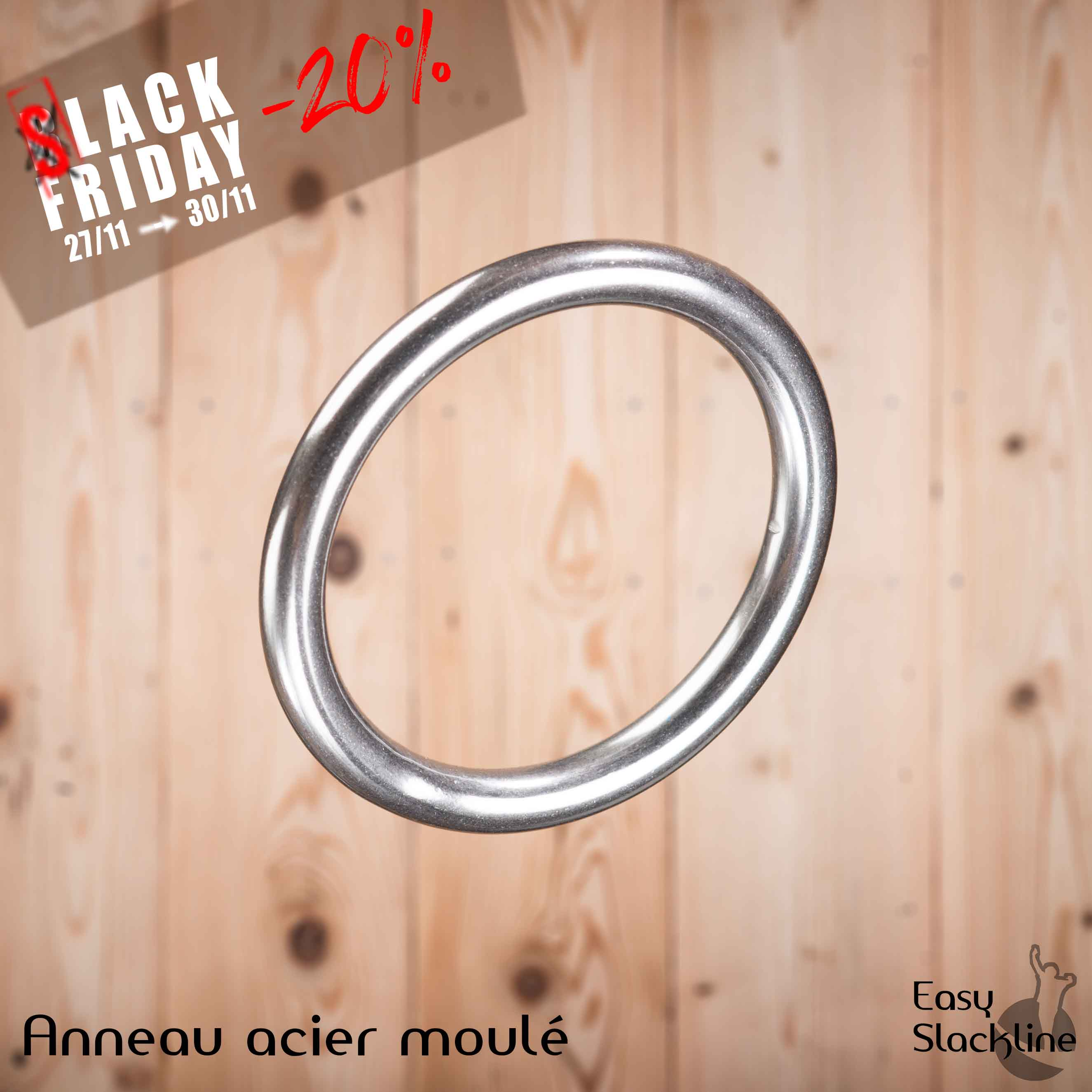 black friday anneau easy slackline