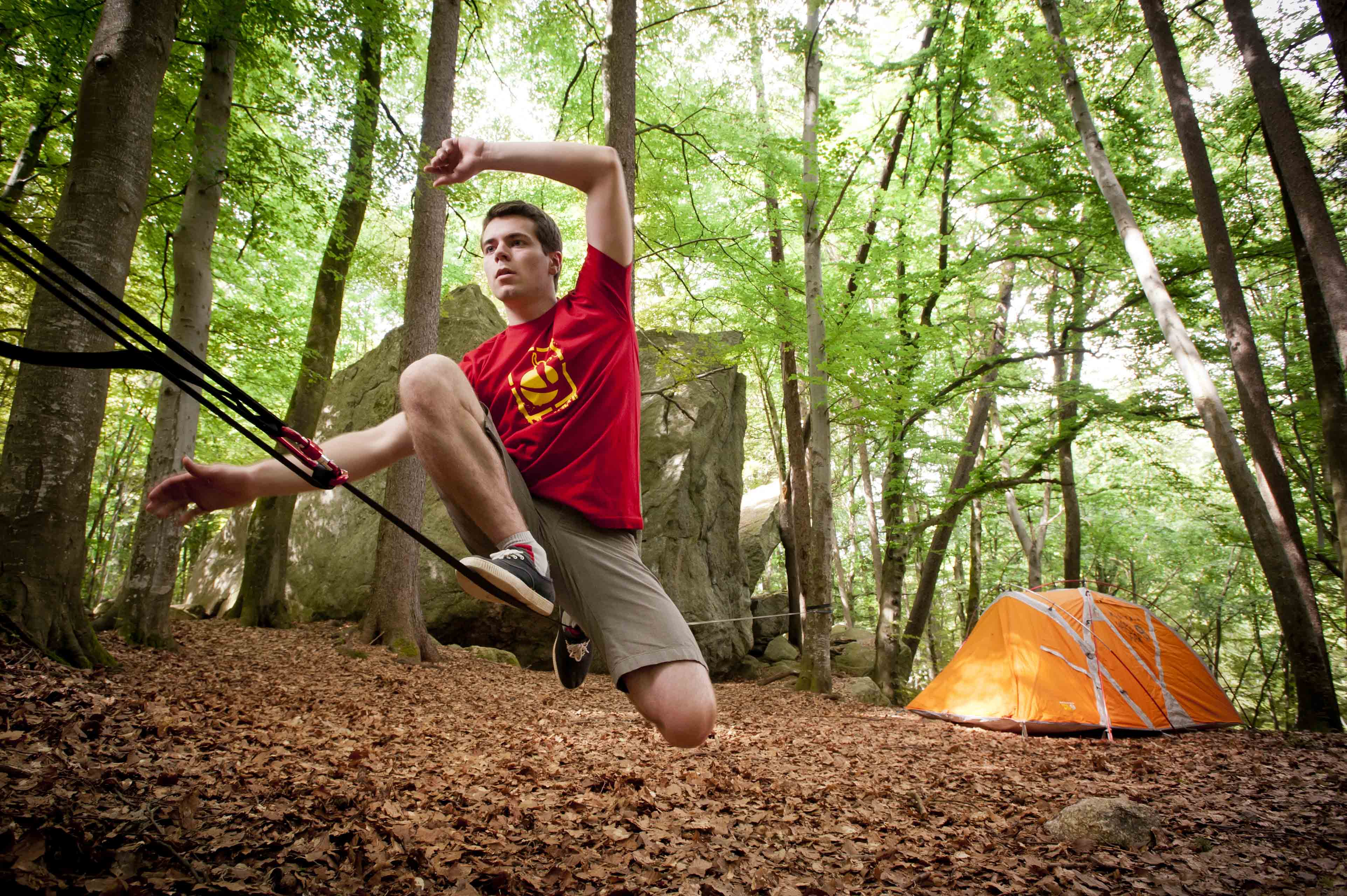 Kit primitiv 15m EASY SLACKLINE