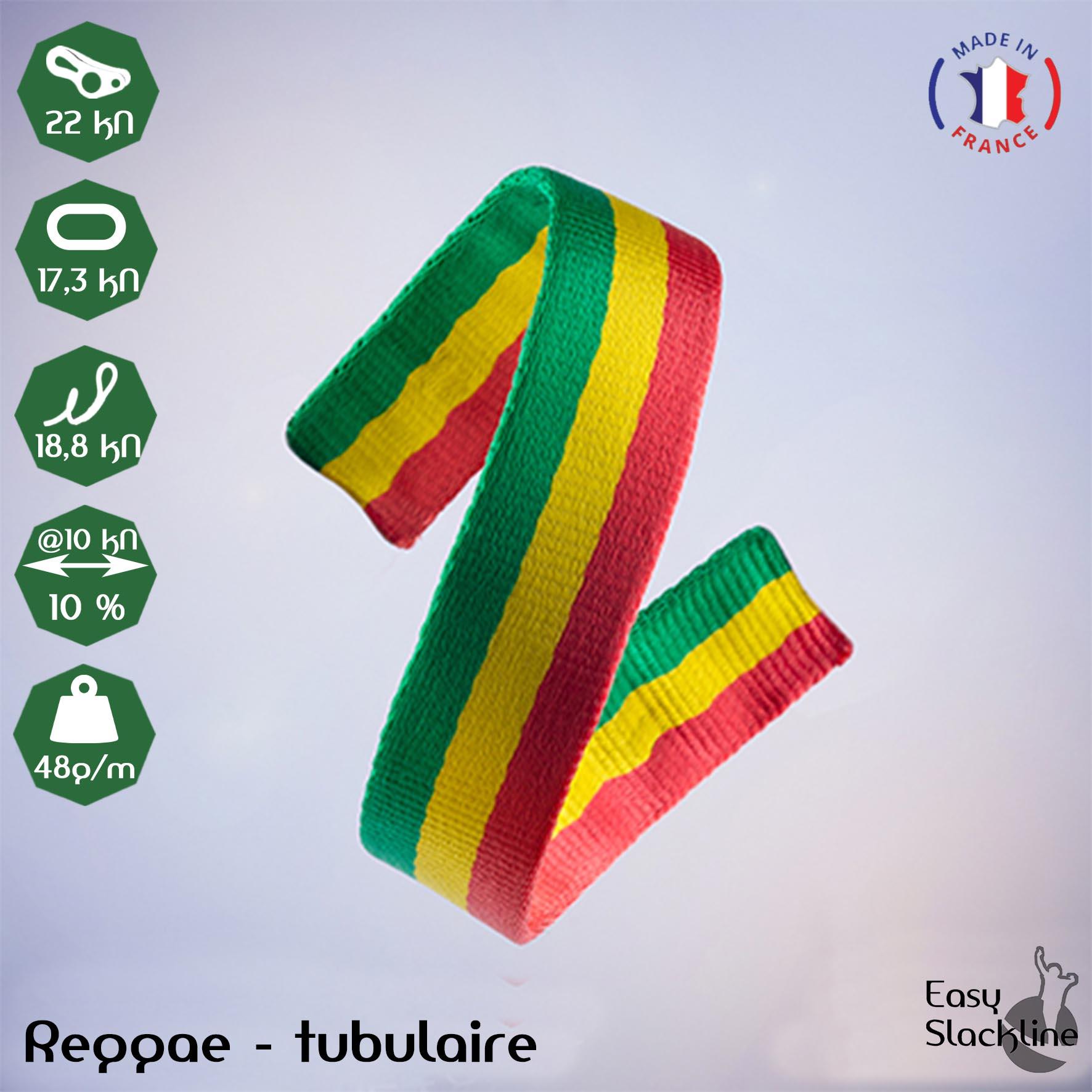 Sangle Reggae - Easy Slackline