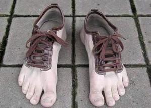 slackline pieds nus chaussures - easy slackline