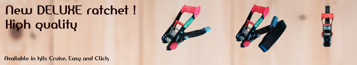 DELUXE ratchet easy slackline